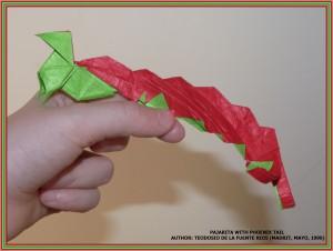 pajarita with pheonix tail 1 JSobczyk